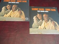 COUNT BASIE BASIE & SAMMY DAVIS OUR SHINING HOUR 180 GRAM SPEAKER CORNER 2 LP'S