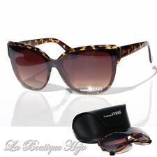 GIANFRANCO FERRE Designer Sonnenbrille GF86103 RU Havana Sunglasses NEU mit Etui