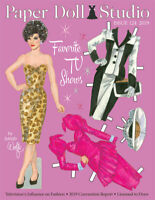 Paper Doll Studio Magazine Issue #124 featuring Favorite TV Shows!