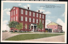 VERNFIELD PA NYCE Bldg Post Office General Store Vtg PC Postcard
