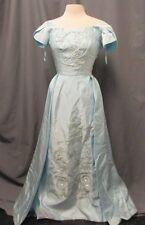 Vintage Christine Gowns Blue Dress