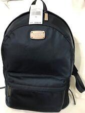Michael Kors Jet Set Item Large Nylon Backpack Navy Blue NWT $298
