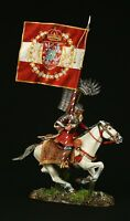 Tin soldier, Museum (TOP), Polish Winged Hussar, XVII c. , 54 mm,