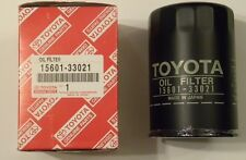 Two New Toyota 8RC, 18RC, & Many Others, Oil Filters 15601-33021 &Drain gaskets