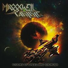 MAXXXWELL CARLISLE - VISIONS OF SPEED AND THUNDER  CD NEU