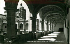 Real Photo Postcard Ex-Convento de Sto. Domingo, Oaxaca, Mexico - ca 1950s A 4-6