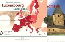 Luxemburg euro set 2006 + extra 2 euro, BU in blister