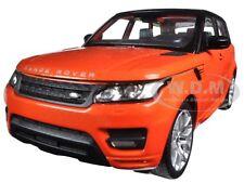 RANGE ROVER SPORT ORANGE 1:24 DIECAST MODEL CAR BY WELLY 24059