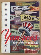 1942 World Series Baseball Program New York Yankees vs Cardinals - Opie 00/1000