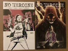 No Heroine 1 (4 Books) Main Templesmith Momoko Callahan Variant Source Point NM