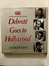 Kidd, Charles DEBRETT GOES TO HOLLYWOOD First U.S. Edition Brand New