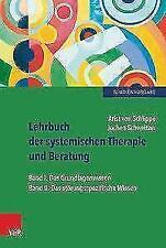 Lehrbuch der systemischen Therapie und Beratung I und II von Arist Schlippe und Jochen Schweitzer (2016, Taschenbuch)