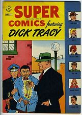 SUPER COMICS #104 - 5.5, CR-OW - Dick Tracy - Orphan Annie