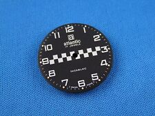 Black Atlantic Watch Dial Part 27.5mm -17 Jewels- Swiss Made -Incabloc- #288