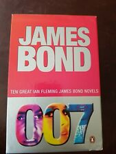 James Bond Ian Flemming 10 Ten Book Collection