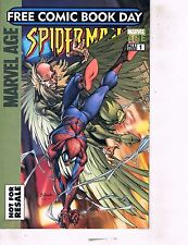 Lot Of 3 Marvel Comic Book Comic Day Spider-Man, Fear Itself, Runaways  AB7