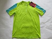 Scott Ropa Ciclismo Hombre Forma Camiseta Cremallera Cuello Manga Corta Jersey