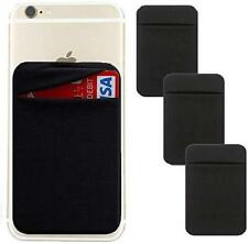 New listing Adhesive Phone Pocket,Cell Phone Stick On Card Wallet,Credit Cards/Id Card Holde