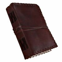 Medieval Renaissance Handmade Leather Diary Journal Vintage Blank Notebook
