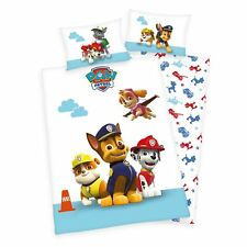 Bed Linen Herding Paw Patrol Chase Rubble Marshall 100 X 135 Cm WOW