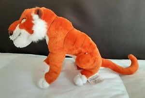 "Disney The Jungle Book Shere Khan Tiger Plush Doll 9"""