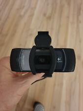 Logitech HD Webcam B910 gebraucht mit Original Folie