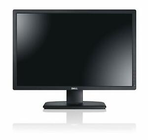 "Dell UltraSharp U2412M 24"" Grade C LCD Monitor IPS LED 1920 x 1200"