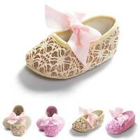 Newborn Infant Baby Kids Shoes Girl Toddler Soft Sole Crib Shoes Prewalker US