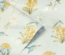 """"""" Kingfisher """" Wallpaper by Holden Decor (pattern no 11561)"""