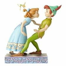 Peter Pan, Wendy, and Tinker Bell - Disney Traditions An Unexpected Kiss Statue