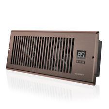 "AIRTAP T4, Quiet Register Booster Fan, Heating / Cooling 4 x 12"" Register Bronze"