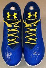 Stephen Curry autographed Dub Nation UA Curry 3 signed 12.5 auto shoes FANATICS