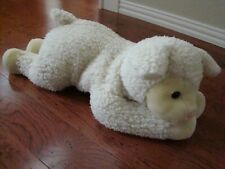 """A&A Plush Soft N Cuddly Woolly the Lamb Super Sized 27"""" Long New with tags"""