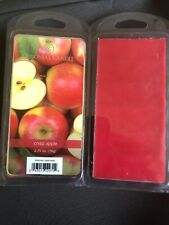 2 COLONIAL CANDLE Crisp Apple WAX MELTS 6 Per PACKAGE - 12 Total