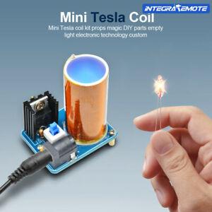 BD243 Mini Tesla Coil Module DIY Kit Electronics Wireless Transmission 9-12V