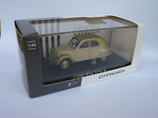 Citroën 2CV type A de 1948 au 1/43 de NOREV AMC0191105 GRIS IRISE