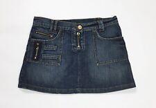 Max co gonna jeans minigonna w28 tg 42 blu usata donna skirt dress corta T3037