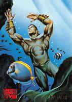 NAMOR / 1995 Marvel Masterpieces (Fleer) Base Trading Card #70