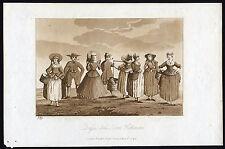 Antique Print-NETHERLANDS-COSTUMS-Ireland-1790