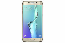 Genuine Samsung Galaxy S6 Edge Plus Gold Glitter Cover Hard Back Case