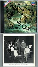 Andras SCHIFF, Alois POSCH, HAGEN QUARTETT Signiert SCHUBERT Trout Quintet CD