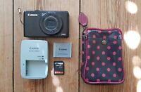 Canon Powershot S90 - compact camera, 10.0 MP, manual mode, video recording