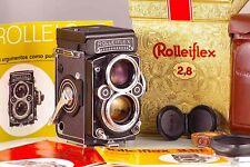 MAGNIFIQUE ROLLEIFLEX 2.8F 2.8 F BLANC FACE CARL ZEISS PLANAR 80mm K7F