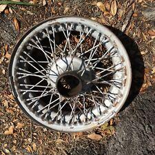 Jaguar XK140 , XK120 Rare Original Dunlop 16 Inch Wire Wheel for Decorative Use