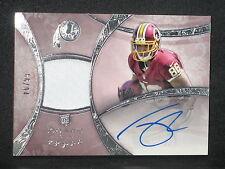 Jordan Reed 2013 Topps Five Star Autograph Jersey Rookie (66/94) Redskins #139