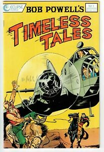 BOB POWELL'S TIMELESS TALES #1 1989 COPPER AGE FIRST ISSUE VFN+!