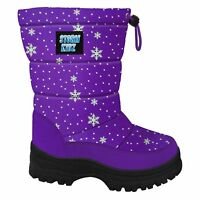 Storm Kidz Kids Snow Boots Cold Weather Snow Boots Puffy Toddler-Big Kid