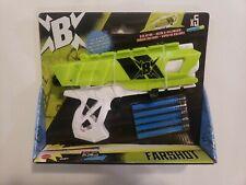 Mattel BoomCo Farshot B Foam Dart Gun with darts BRAND NEW!