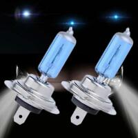 2 PCS H7 5000K Xenon Gas Halogen Headlight White Car Light Lamp Bulbs 55W 12V MT