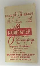 11 1/2 * 150 x 011 - 2921 Nos Mainspring Ba-Be Bul.-Bb Benrus 6 x 10 x